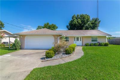 Belleview Single Family Home For Sale: 8987 SE 120th Place