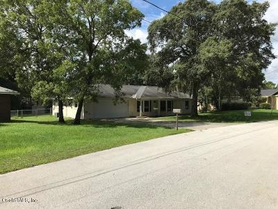 Ocala Single Family Home For Sale: 511 Bahia Circle Run