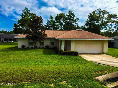 Ocala Single Family Home For Sale: 5523 Pecan Road