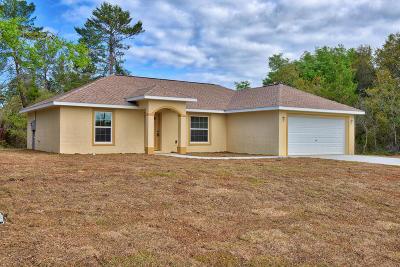 Ocala Single Family Home For Sale: 16690 SW 50th Avenue