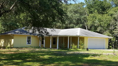 Dunnellon Single Family Home For Sale: 18160 SW 60th Street