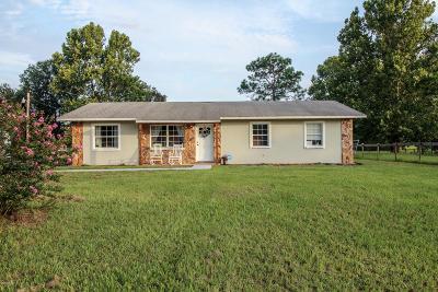 Morriston Single Family Home For Sale: 6050 SE 186th Terr Terrace