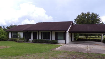 Marion County Farm For Sale: 8311 W Anthony Road