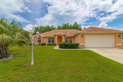 Ocala Single Family Home For Sale: 4472 SW 98th Street