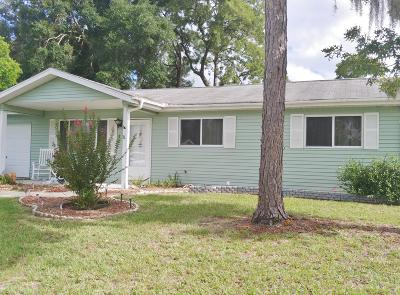 Ocala Single Family Home For Sale: 8208 SW 106th Place