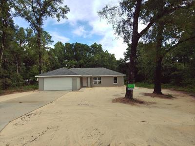 Belleview Single Family Home For Sale: 7068 SE 123 Place