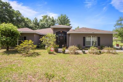 Reddick Single Family Home Pending: 3000 NW 155th Street
