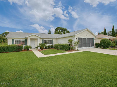Spruce Creek Country Club, Spruce Creek Country Club Echo Glen Ph 01, Spruce Creek Country Club Sherwood Rep, Spruce Creek Country Club Wellington, Spruce Creek Country Club Windward Hills, Spruce Creek Gc, Spruce Creek G&c Single Family Home For Sale: 13847 SE 85th Circle
