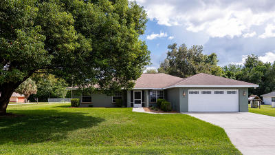 Summerfield Single Family Home For Sale: 4070 SE 136th Place