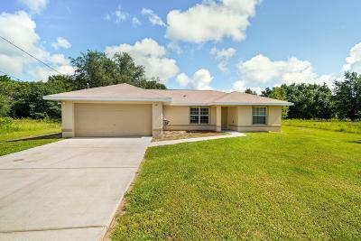 Ocklawaha Single Family Home Pending: 54 Magnolia Drive