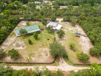 Fort McCoy Single Family Home For Sale: 15670 NE 236th Street