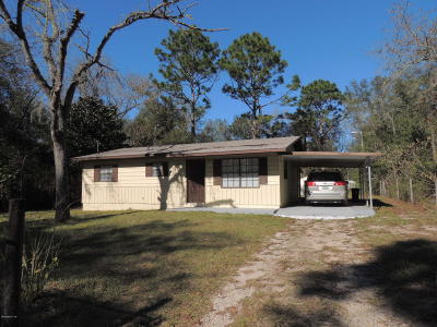 Levy County Single Family Home For Sale: 10313 NE 67 Street