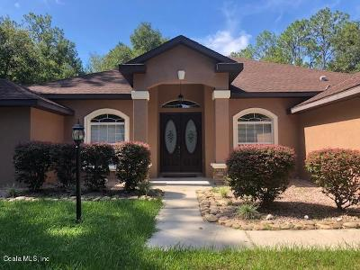 Rainbow Spgs Wd Rental For Rent: 21950 SW 80th Road