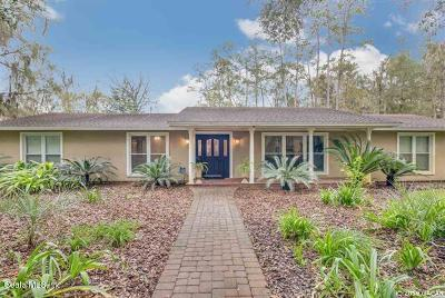 Gainesville FL Single Family Home For Sale: $1,122,200