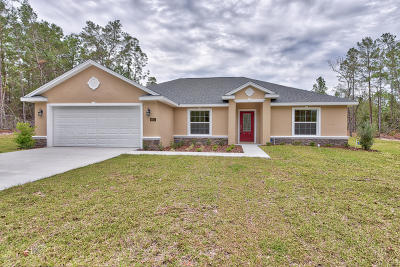 Ocala Single Family Home For Sale: 3944 SW 103rd Street Road