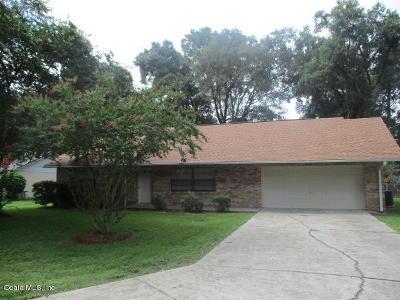 Ocala Single Family Home For Sale: 3030 NE 38th Street