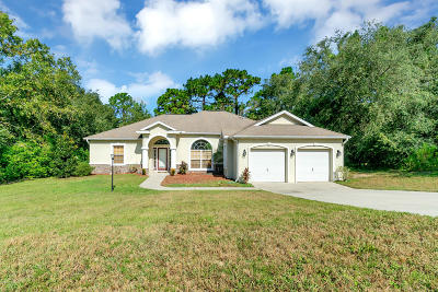 Inverness Single Family Home For Sale: 1336 N Chance Way