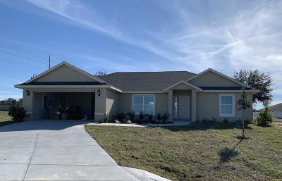 Ocala Single Family Home For Sale: 4958 SW 97th Lane
