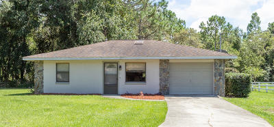 Citrus County Single Family Home For Sale: 2884 E Newhaven Street