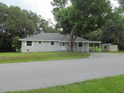 Silver Springs Single Family Home For Sale: 18841 SE 17th Place