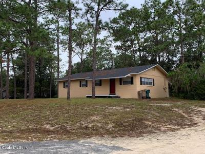 Ocala Single Family Home For Sale: 4343 NE 12th Street