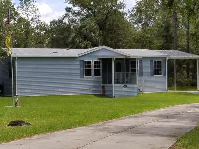Dunnellon Single Family Home For Sale: 10991 SE 125th Court