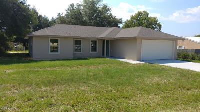 Ocala Single Family Home For Sale: 3 Dogwood Drive