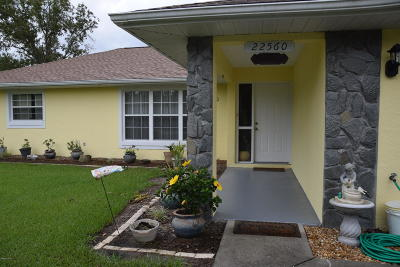 Dunnellon Single Family Home For Sale: 22560 SW Tiger Lake Boulevard