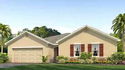 Ocala Single Family Home For Sale: 154 Hickory Course Radial