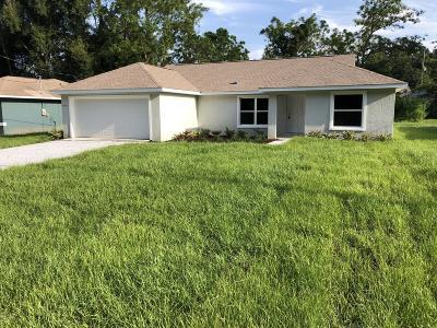Summerfield Single Family Home For Sale: 4319 SE 135 Lane