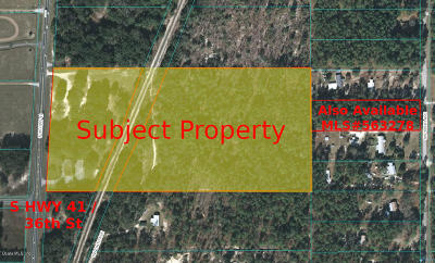 Dunnellon Residential Lots & Land For Sale: 3585 S U.s. Highway 41
