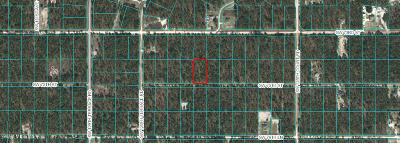 Dunnellon Residential Lots & Land For Sale: Lot 3 SW Nightingale Drive