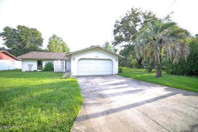 Dunnellon Single Family Home For Sale: 20785 SW Beach Blvd