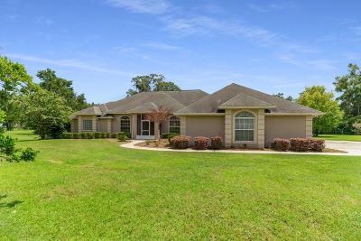 Ocala Single Family Home For Sale: 12155 NE 8th Avenue