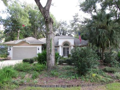 Dunnellon Single Family Home For Sale: 18969 SW 99th Street