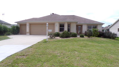 The Villages Single Family Home For Sale: 1863 Union Place