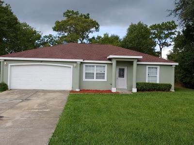 Ocala Single Family Home For Sale: 36 Oak Circle