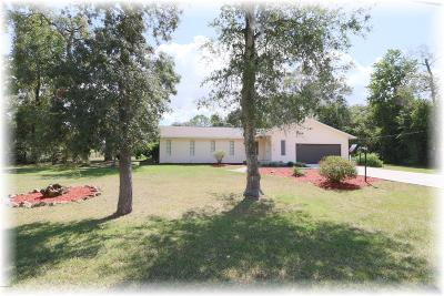 Ocala Single Family Home For Sale: 4750 SW 21st Place