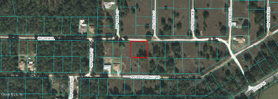 Ocala Residential Lots & Land For Sale: 15180 SW 38th Place