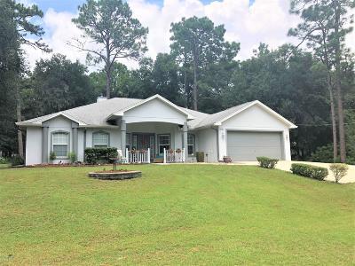 Ocala Single Family Home For Sale: 13781 SW 51st Lane