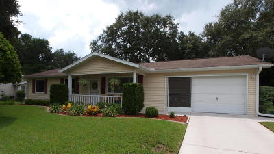 Ocala Single Family Home For Sale: 8110 SW 108th Lane Road