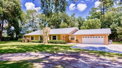 Ocala Single Family Home For Sale: 1601 NW 150th Avenue