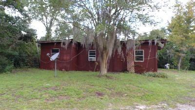 Fort McCoy Single Family Home For Sale: 15635 NE 239th Street