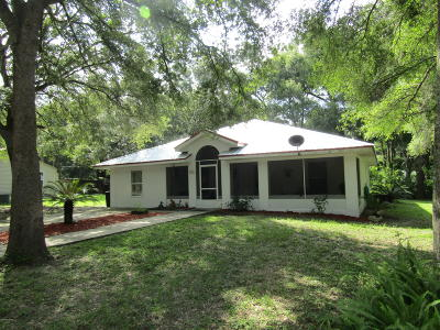 Dunnellon Single Family Home For Sale: 19346 Saint Lawrence Drive