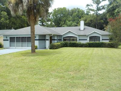 Ocala Single Family Home For Sale: 5 Almond Drive Place