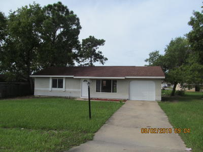 Ocala Single Family Home For Sale: 8730 SE 79th Ave Rd Road