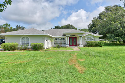 Ocala Single Family Home For Sale: 13 Wintergreen Way