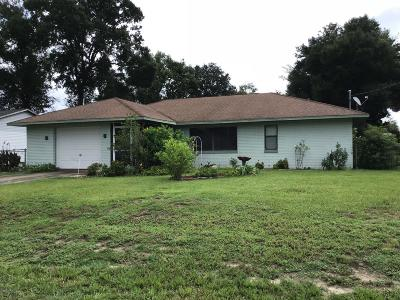 Belleview Single Family Home Pending: 11365 SE 75th Court