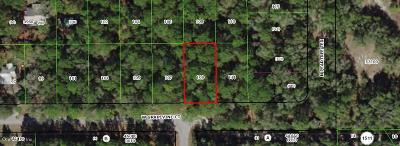 Dunnellon Residential Lots & Land For Sale: 2809 W Grapevine Court