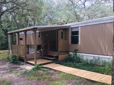 Ocala Mobile/Manufactured For Sale: 16555 SW 47th Place Road